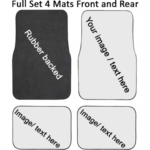 Full Set of  4 Mats